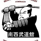 South West Budokan Tee Australia. by Leonie Mac Lean