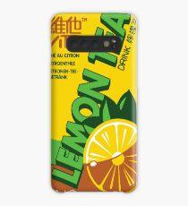 Vita Zitronen Tee Hülle & Klebefolie für Samsung Galaxy