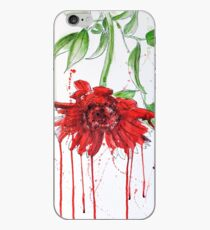 Red Gerbera iPhone Case
