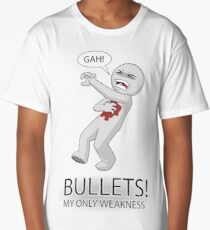 Bullets! My only weakness Long T-Shirt