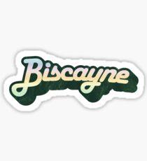 Biscayne National Park | Retro Streamline Sticker