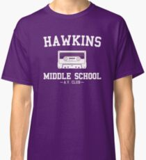 Hawkins Middle School AV Club Classic T-Shirt