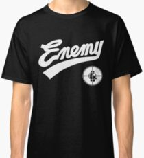 Public Enemy fight the power 1989 baseball replica Classic T-Shirt