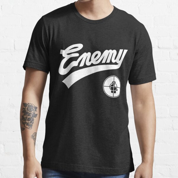Public Enemy fight the power 1989 baseball replica Essential T-Shirt