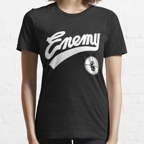 Public Enemy kämpfen die Baseball-Replik der Macht 1989 Essential T-Shirt