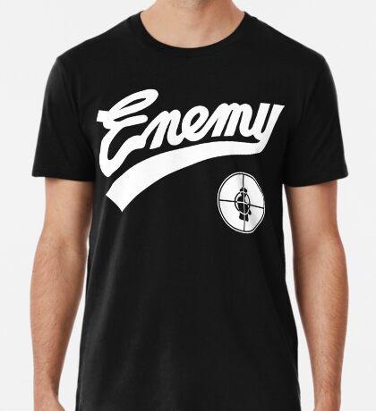 Public Enemy fight the power 1989 baseball replica Premium T-Shirt