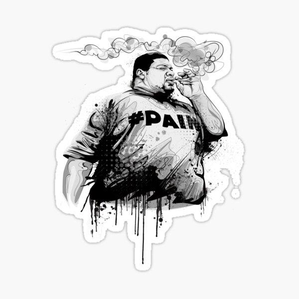 Big Narstie! #PAIN Sticker