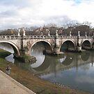 Ponte Sant'Angelo by Robert Brown