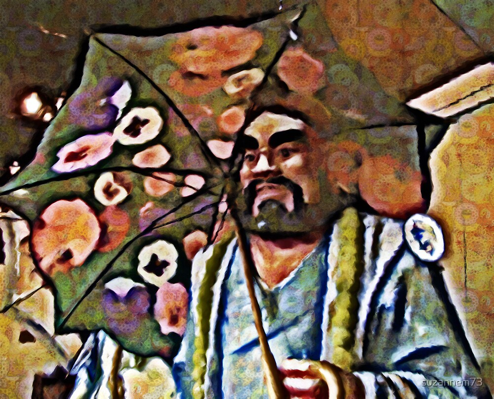 Chinese Umbrella by suzannem73