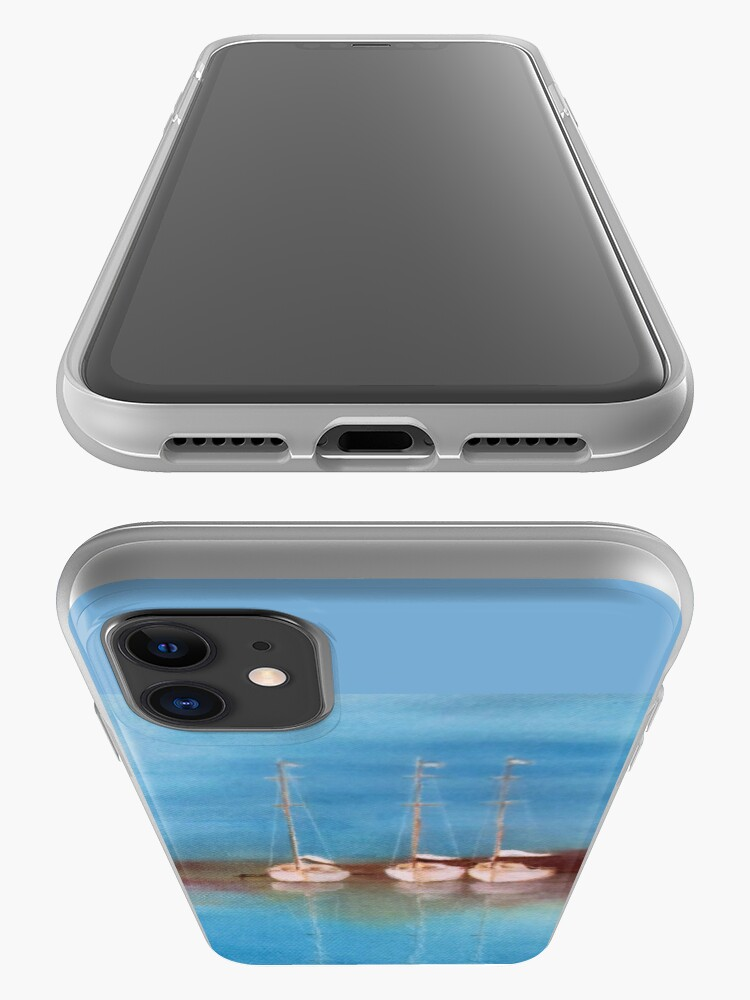Alternate view of Yacht Haven iPhone Case & Cover