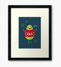 Avo Merry Christmas! Framed Print