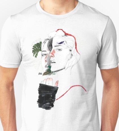 CELLULAR DIVISION II by elena garnu T-Shirt