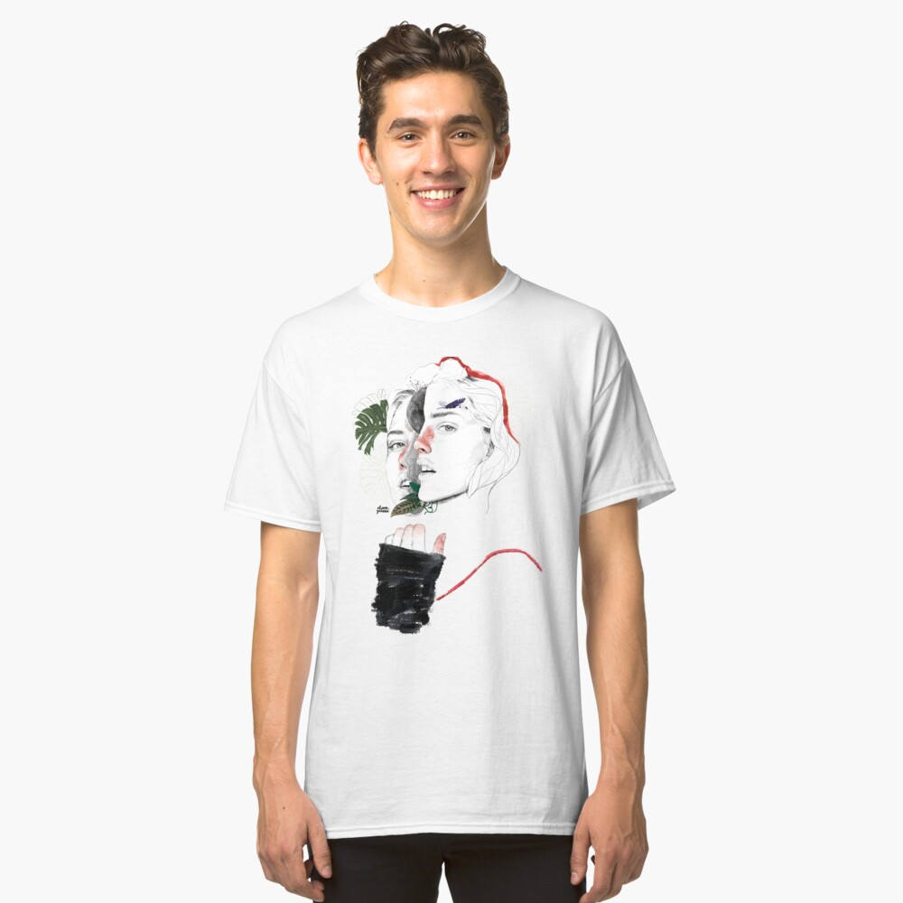 CELLULAR DIVISION II by elena garnu Classic T-Shirt
