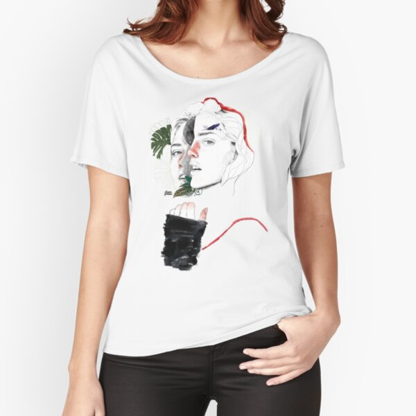 CELLULAR DIVISION II by elena garnu Relaxed Fit T-Shirt