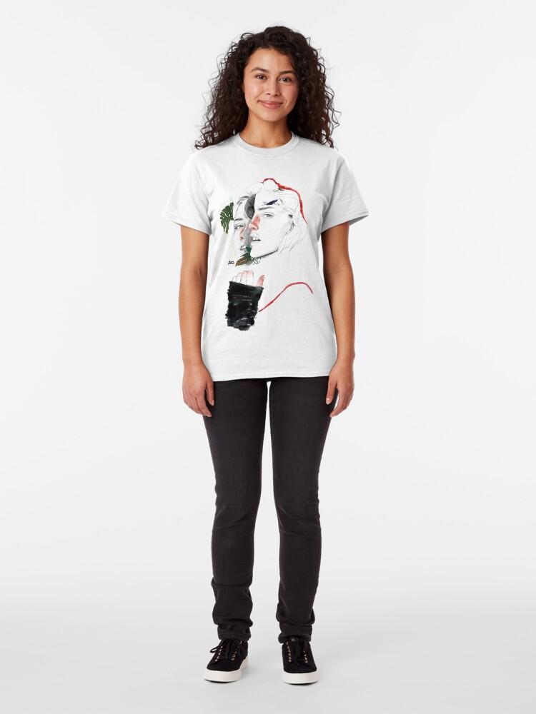 Alternate view of CELLULAR DIVISION II by elena garnu Classic T-Shirt