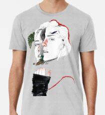 CELLULAR DIVISION II by elena garnu Premium T-Shirt