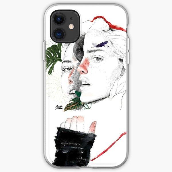 CELLULAR DIVISION II by elena garnu iPhone Soft Case