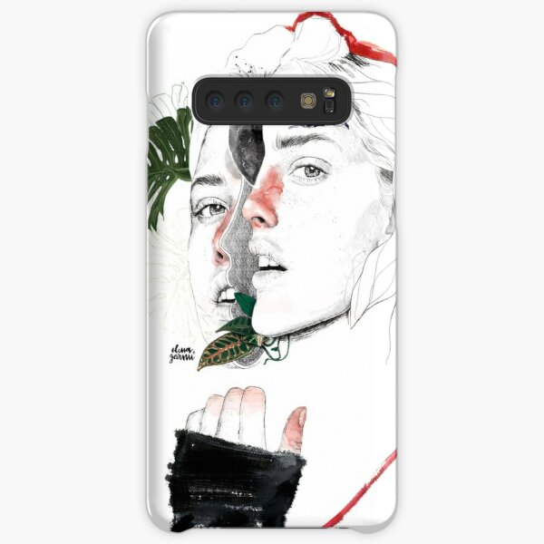 CELLULAR DIVISION II by elena garnu Samsung Galaxy Snap Case