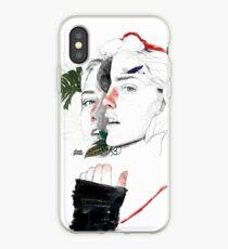 CELLULAR DIVISION II by elena garnu iPhone Case