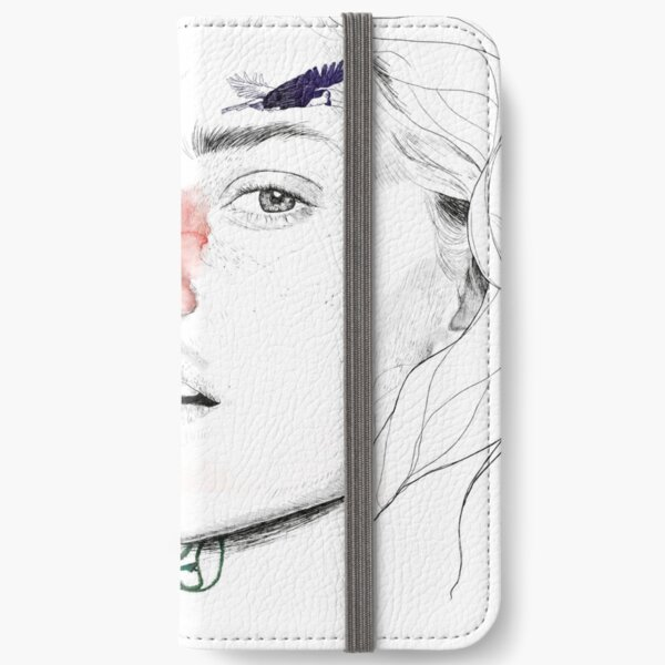 CELLULAR DIVISION II by elena garnu iPhone Wallet