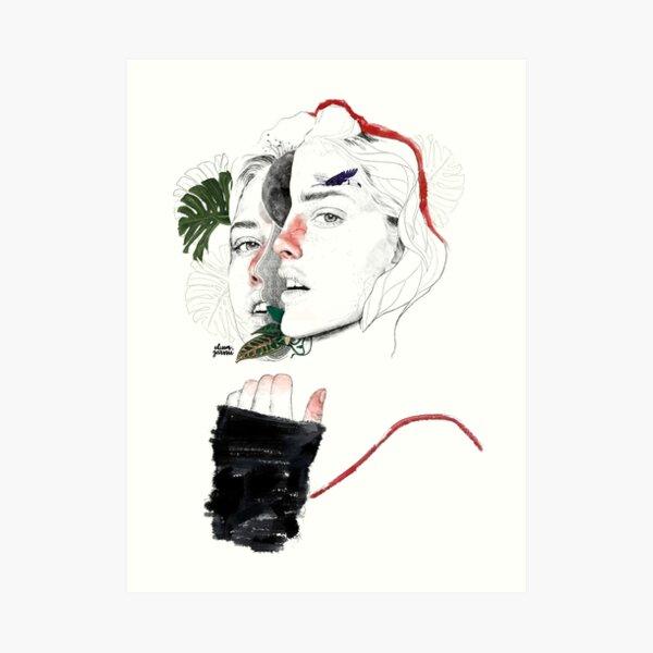 CELLULAR DIVISION II by elena garnu Art Print
