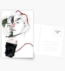 CELLULAR DIVISION II by elena garnu Postcards