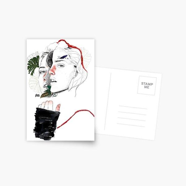 CELLULAR DIVISION II by elena garnu Postcard