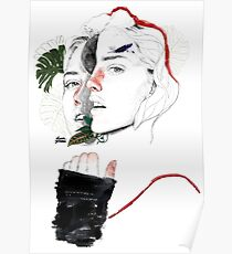 CELLULAR DIVISION II by elena garnu Poster