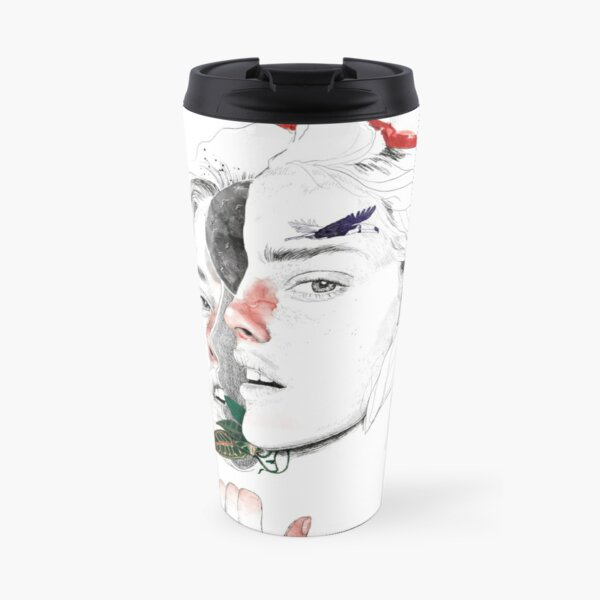 CELLULAR DIVISION II by elena garnu Travel Mug