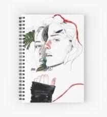 CELLULAR DIVISION II by elena garnu Spiral Notebook