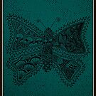 The Butterfly Of Planet Flora - Card by tropicalsamuelv