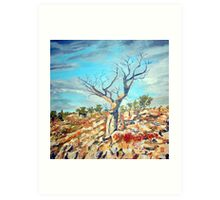 Boab tree Art Print