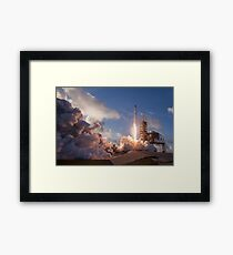 SpaceX  Launch Framed Print