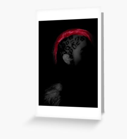 Hiding In The Shadows Greeting Card