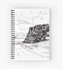 The bealach. pen & ink Spiral Notebook