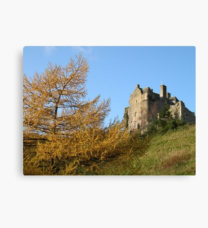 neidpath castle Canvas Print