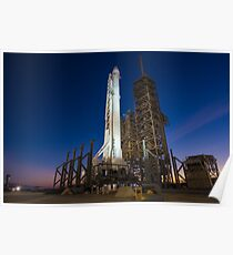 Falcon 9 and Dragon Poster