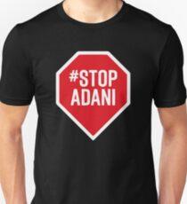 stop adani logo Unisex T-Shirt
