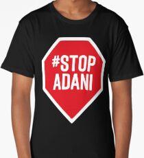 stop adani logo Long T-Shirt