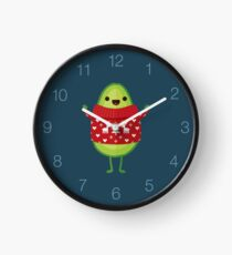 Avo Merry Christmas! Clock