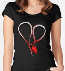 Love Charm T Women's Fitted Scoop T-Shirt
