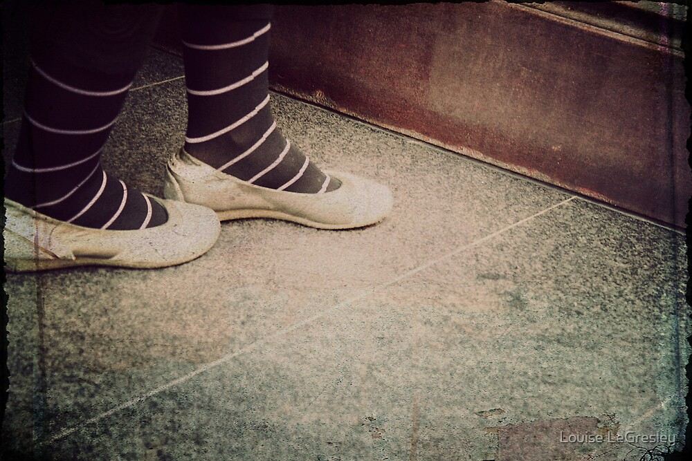 _ these shoes _ by Louise LeGresley