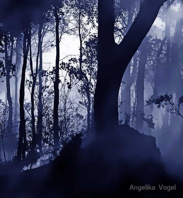 Smog in the Forest by Angelika  Vogel
