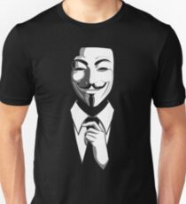 Anonymous (group) - Collar and Tie T-Shirt