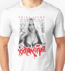 erika jayne - the beauty singer Unisex T-Shirt