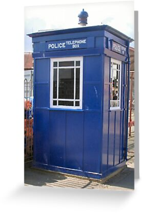 Tardis Police Box by Woodie