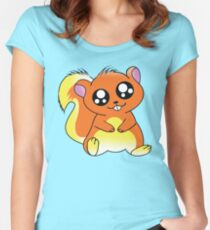 Squirrel Chan Women's Fitted Scoop T-Shirt