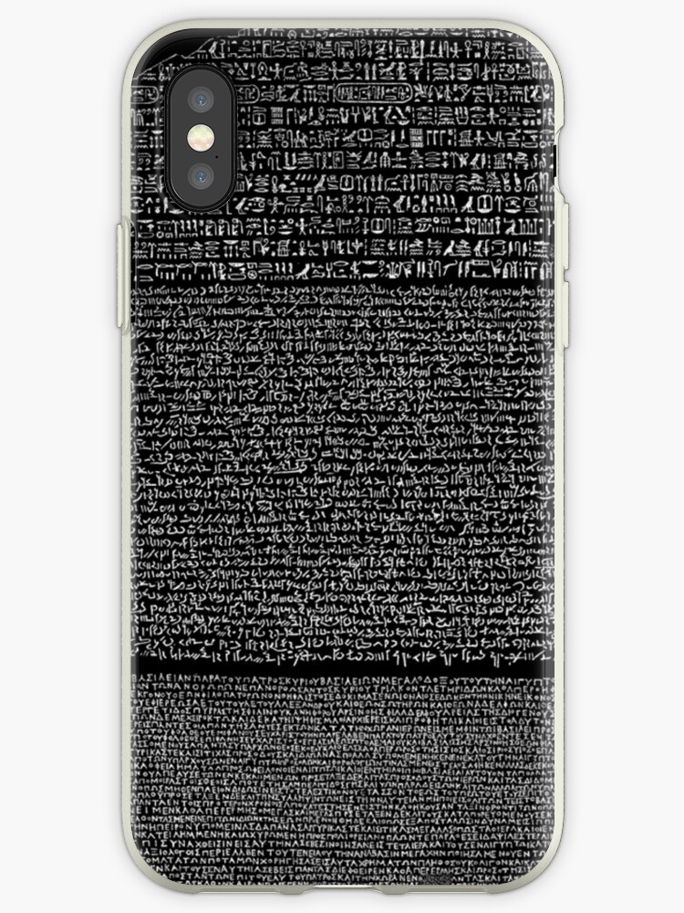 buy online d596b 11457 'Rosetta Stone' iPhone Case by Ommik