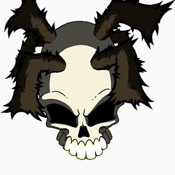 Graff Skull by WOOKiE