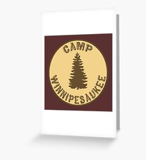 Camp Winnipesaukee Greeting Card